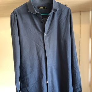 Topman XL blue button up